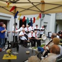 Senioren-Seemannschor Crange, Gäste und Mitarbeiter der Tagespflege Herne in Feierlaune